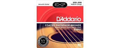 D'Addario EXP17 Medium Strings