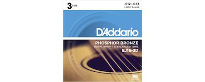 3pk - D'Addario EJ16 String