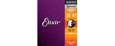 Elixir 11002 Nanoweb Extra Light Strings