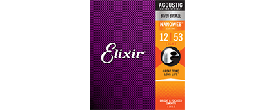 Elixir 11052 Nanoweb Light Strings