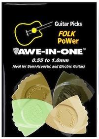 Awe-In-One Picks - Folk Power Sampler