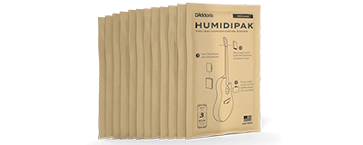 D'Addario Two-Way Humidification System Replacement 12 Pack