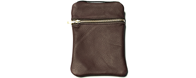 John Pearse Musician's Leather Carryall - Wine - Large
