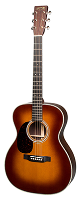 Martin 000-28 (2018) Ambertone Left-Handed,00028amber,00028atlh,000-28 Amber LH,00028LH