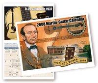2008 Martin Guitar Calendar
