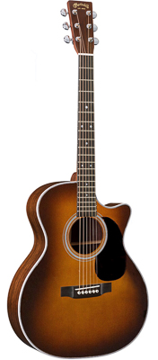 Martin GPC-28E Ambertone with Fishman Aura VT Enhance 2018