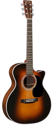 Martin GPC-28E Sunburst with Fishman Aura VT Enhance 2018