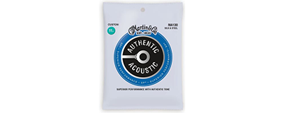 Martin MA130 Authentic Acoustic Strings - Silk & Steel
