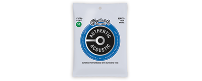 Martin MA170 Authentic Acoustic Strings - SP 80 20 Bronze Extra Light