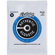 Martin MA240 Authentic Acoustic Strings - SP 80/20 Bronze Bluegrass