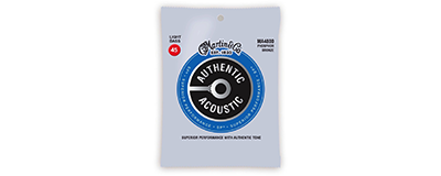 Martin MA4800 Authentic Acoustic SP Bass Strings - Light