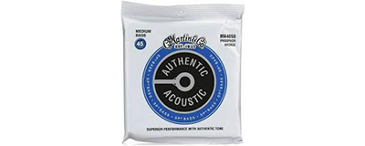 Martin MA4850 Authentic Acoustic SP Bass Strings - Medium