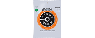 Martin MA500FX Authentic Acoustic Strings - Flexible Core Phosphor Bronze Extra Light 12-String