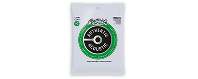 Martin MA500S Authentic Acoustic Strings - Marquis Silked Phosphor Bronze Extra Light 12-String