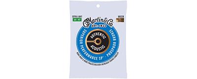Martin MA535 Authentic Acoustic Strings - SP Phosphor Bronze Custom Light Bulk Set of 25,ma535 bulk,