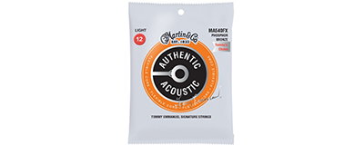 Martin MA540FX Authentic Acoustic Strings - Flexible Core Phosphor Bronze Light - Tommy's Choice