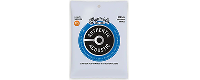 Martin MA545 Authentic Acoustic Strings - SP Phosphor Bronze Light-Medium