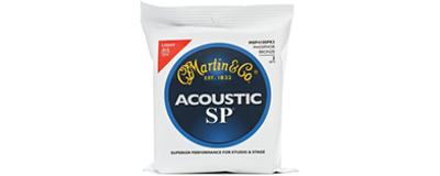 Martin MSP4100 SP Light Acoustic String - 3pk