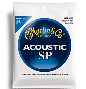 Martin MSP4200 SP Phosphor Bronze Medium Acoustic Strings