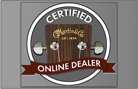 Martin Certified Online Dealer