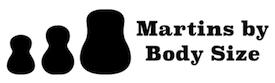 Martin Body Sizes