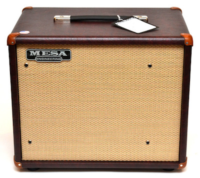 Mesa Boogie Compact Cabinet 1x12 Thiele in Wine Taurus Tan Jute Grille