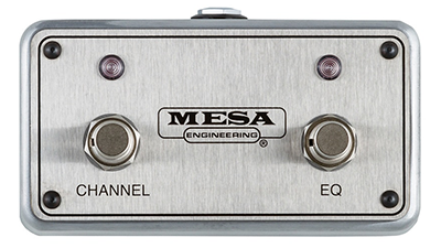 Mesa Boogie Channel and EQ Footswitch