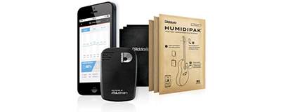 D'Addario Humidikit - Humiditrak  Humidipak Bundle