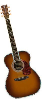 Martin 000-42 Ambertone Custom