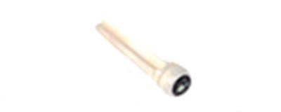Bone Bridge Pin - single Abalone Star inlay pin