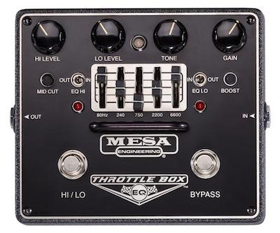 Mesa Boogie THROTTLE-BOX EQ Pedal