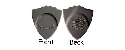 Awe-In-One Pick - Dark Grey 6pk