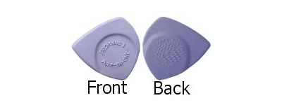 Awe-In-One Pick - Purplish Blue 6pk