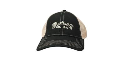 Martin Black Tan Mesh Trucker Hat