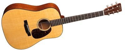 Martin D-18E with LR Baggs Anthem
