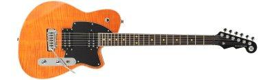 Reverend Reeves Gabrels - Orange Flame Maple