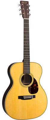 Martin OM-28E with Fishman Aura VT Enhance 2018