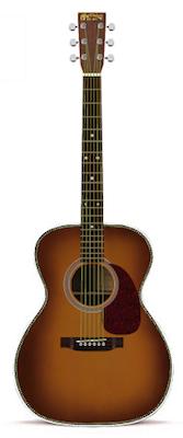 Martin OM-28V Ambertone