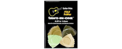 Awe-In-One Picks - Folk Power Sampler