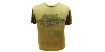 Martin America's Guitar T-Shirt - Military Green