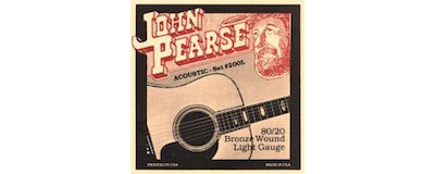 John Pearse 200L Light Strings