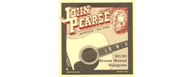 John Pearse 250 Bluegrass Strings