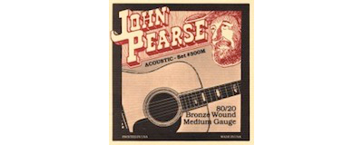 John Pearse 300M Medium Strings