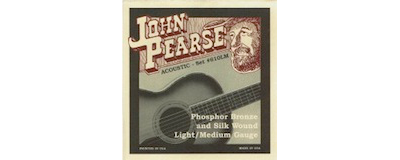 John Pearse 610LM Silk Light-Medium Strings