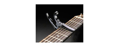 Kyser 12-string Guitar Capo black