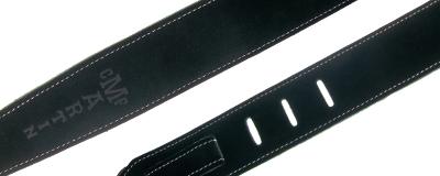 Martin black suede guitar strap