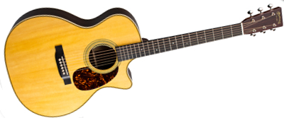 Martin GPC-28E with LR Baggs Anthem 2018