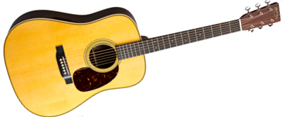 Martin HD-28E with LR Baggs Anthem 2018