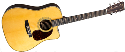 Martin HDC-28E with LR Baggs Anthem 2018