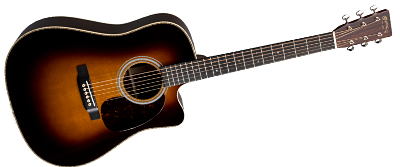 Martin HDC-28E Sunburst with LR Baggs Anthem 2018
